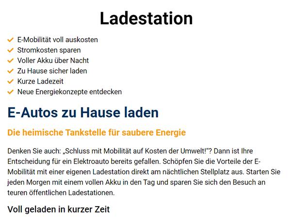 E Autos Ladestation im Raum 01909 Großharthau