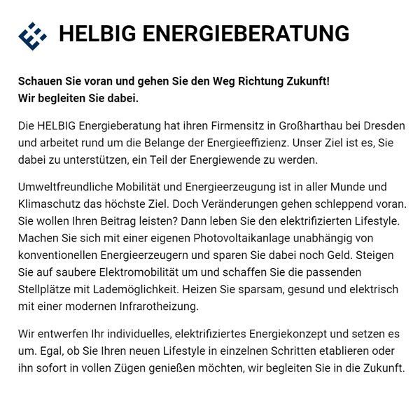 Energieberatung & Energieberater für Solar in 01909 Frankenthal