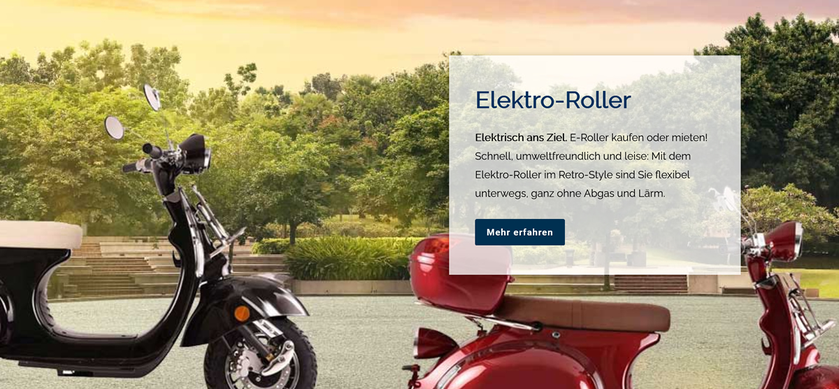 Helbig Elektro Roller
