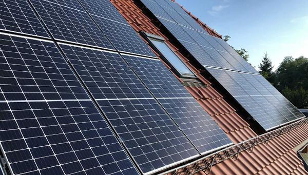 PV Solaranlage im Raum  Großharthau