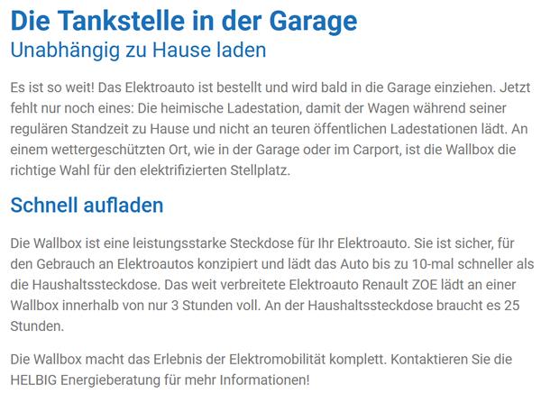 Schnellladestation Garage im Raum 01909 Großharthau